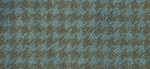 Weeks Dye Works Houndstooth Fat Quarter Wool 1155 Blue Heron