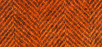 Weeks Dye Works Wool Herringbone Fat Quarter 2228	 Pumpkin