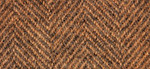 Weeks Dye Works Wool Herringbone Fat Quarter 2226 Carrot