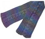 P-J-065 Jojoland Knitting Pattern Baneberry Scarf