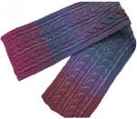 P-J-060 Jojoland Knitting Pattern Sprinq Beauty Scarf