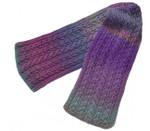 P-J-073 Jojoland Knitting Pattern Tuck's Cap Lily Scarf