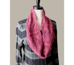 P-J-050 Jojoland Knitting Pattern Hawthorn Lace Cowl