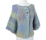P-J-041 Jojoland Knitting Pattern Mountain Stream Sweater