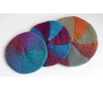 P-J-027 Jojoland Knitting Pattern Eight Pie Tam