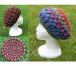 P-J-027 Jojoland Knitting Pattern Berry Tam