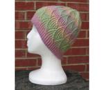 P-J-018 Jojoland Knitting Pattern  Water lily Hat Cap