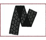 P-2-102-01Cashmere Scarf Black Jojoland Crochet Pattern