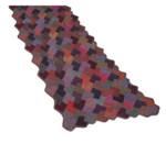 P-J-003 Jojoland Knitting Pattern Hidden Squares Shawl/Wrap