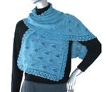 P-J-007 Jojoland Knitting Pattern Grape Vine Shawl/Wrap