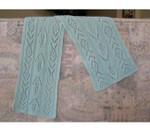P-C244-01 Jojoland Knitting Pattern Cashmere Scarf