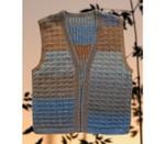 P-8-M01-01 Jojoland Knitting Pattern Man's Vest