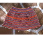 P-7-Y45-01 Jojoland Knitting Pattern Bramble Poncho