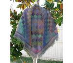P-7-Y46-01 Jojoland Knitting Pattern Bear Track Shawl
