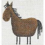 019f Horse Mini 18 Mesh Rebecca Wood Designs