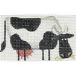 019d Cow right Mini 18 Mesh Rebecca Wood Designs