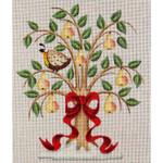 020a Partridge in a tree Mini 18 Mesh Rebecca Wood Designs