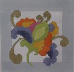 130A NEEDLEDEEVA 6 x 6 Paisley Floral 13m