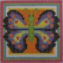 170 NEEDLEDEEVA 2.6 x 2.6 18 Mesh Mini Butterfly