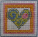 172 NEEDLEDEEVA 2.6 x 2.6 18 Mesh Mini Heart