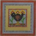 176 NEEDLEDEEVA 2.6 x 2.6 18 Mesh Mini Crow