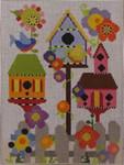 333B NeedleDeeva 6 x8  18 Mesh Mackenzie's Birdhouse Garden