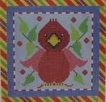 1382E NeedleDeeva 18 Mesh  4.5 x 4.5 Cardinal Square