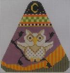467I NeedleDeeva 4.5 x 4.5 18 Mesh Hooty Owl