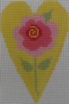 510A NeedleDeeva 2.8 x 3.5 18 Mesh Ribbon Rose