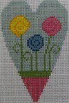 510C NeedleDeeva 2.8 x 3.5 18 Mesh Wild Flowers