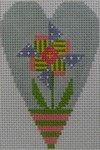510D NeedleDeeva 2.8 x 3.5 18 Mesh Windmill Flower