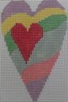 510E NeedleDeeva 2.8 x 3.5 18 Mesh Heart Waves