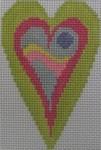 510F NeedleDeeva 2.8 x 3.5 18 Mesh Southwest Heart