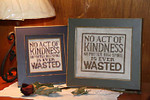 A. Fox Original Counted Cross Stitch Pattern Kindness