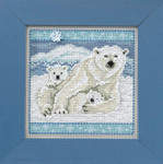 MH144305 Mill Hill Buttons and Bead Kit Polar Bears (2014)