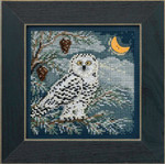 MH144304 Mill Hill Buttons and Bead Kit Snowy Owl (2014)