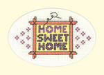 HCK1207 Heritage Crafts Kit Home Sweet Home  Greeting Cards by Michaela