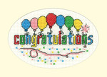 HCK1204 Heritage Crafts Kit Congratulations  Greeting Cards by Michaela