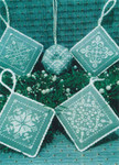 14-2200 STL-0024 Snowflake Ornaments by ScissorTail Designs 31w x 31h