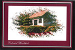 14-1825 Colonial Woodshed (Colonial Series 4) by Ronnie Rowe Designs 160w x 140h