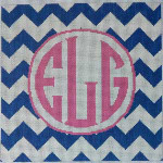 AA-791N Chevron Monogram/Navy Associated Talents