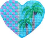 CT-1575 Palm Trees/Checks Heart Associated Talents