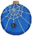 EE-1210 Spider Web Ball Ornament 3 x 3.5 18 Mesh Associated Talents
