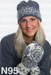 Navia Snowflake Hat & Mittens