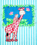 WH1323 Lee's Needle Arts GIRAFFE BAZOOPLE 12X10 18M