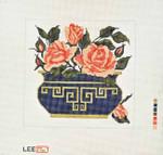 AO1148SKU Lee's Needle Arts Roses 7X7 18M