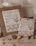 14-2102 Happy Acorn Harvest 78 x 108 Jeannette Douglas Designs