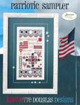 14-1738 Patriotic Sampler 92 x 198 Jeannette Douglas Designs