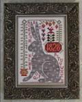 14-1437 Rebecca Rabbit  by Kathy Barrick 106w x 153h