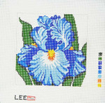 AO1234SKU Lee's Needle Arts Iris 7X7 12M